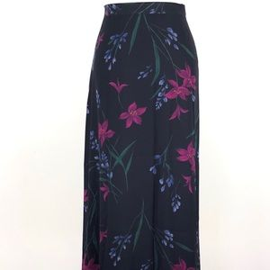 Jones New York Long Floral Skirt